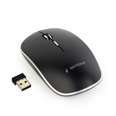 Gembird mouse wireless musw-4b-01 ,colore nero