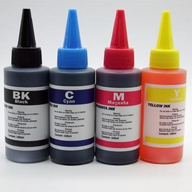 BLACK INK 100ml FOR HP LEXMARK CANON BRO THER B